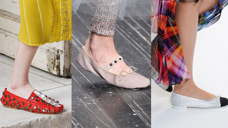 Sepatu wanita terbaru - Sepatu ballet