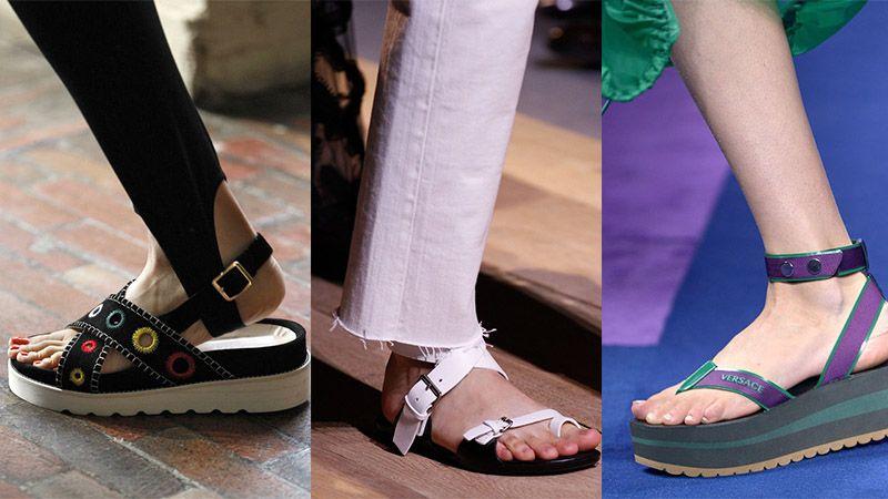 Sandal sepatu wanita - Sandal mode