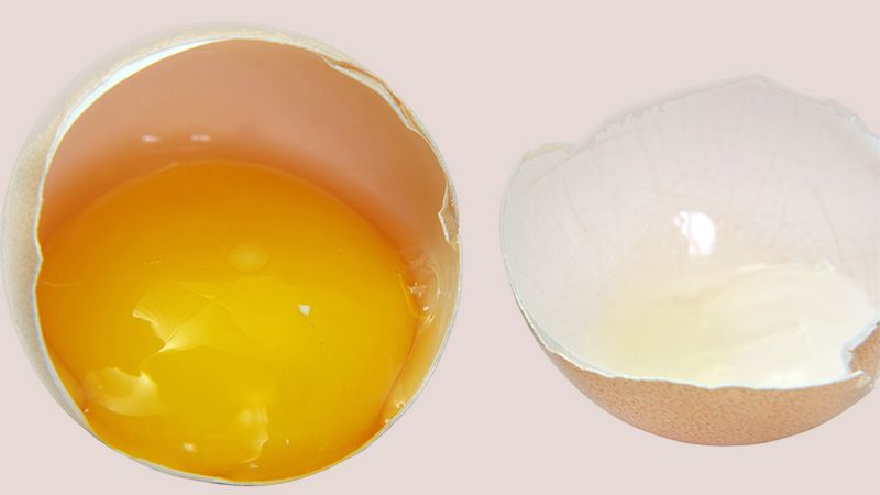Menghilangkan Bekas Jerawat Secara Alami - Putih Telur