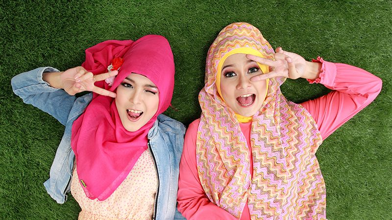 15 Video Tutorial Hijab Segi Empat Dan Pashmina Tanpa Ribet Cantikbijak