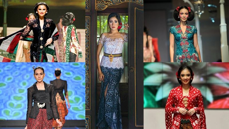 Baju Kebaya Modern - Jenis Jenis Kebaya di Indonesia