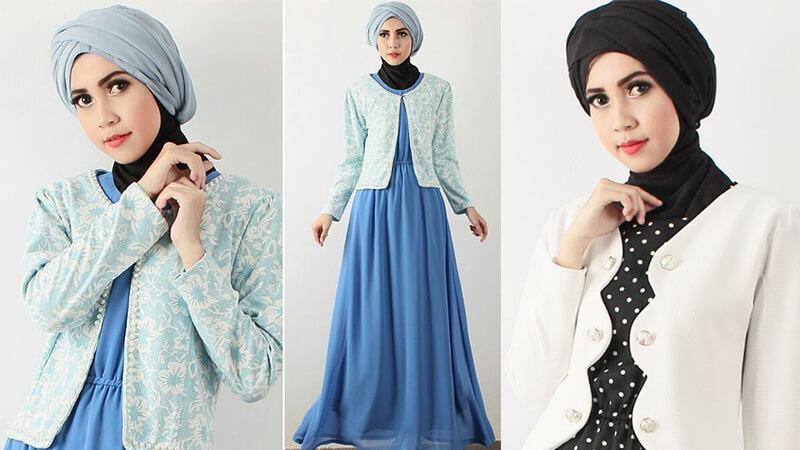 Model Baju Gamis Terbaru - Busana Blazer