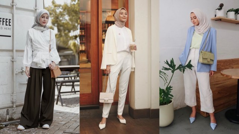 Tips Outfit Kerja Untuk Wanita Hijab