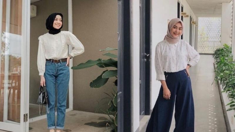 Inspirasi Style Hijab Kantor Casual yang Mudah Dipraktekkan